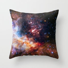 Westerlund Star Field Throw Pillow