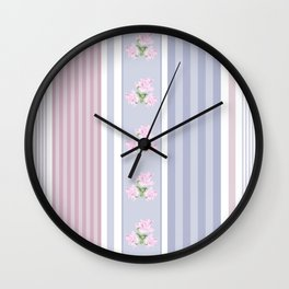 Combined, patchwork 1 Wall Clock