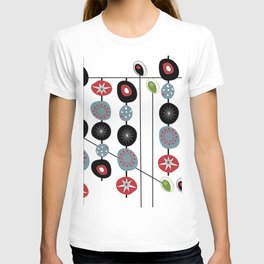 Mid-Century Modern Art Atomic Cocktail 2.0 T-shirt