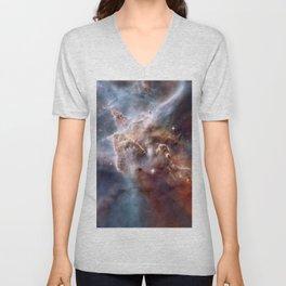 Carina Nebula Unisex V-Neck