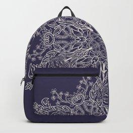 Spring Garden Mandala Ultra Violet Backpack