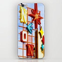 Neon Boneyard iPhone Skin