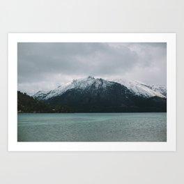 Patagonia Mountain Art Print