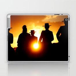 Golden pilgrims Laptop & iPad Skin