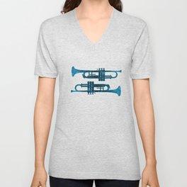 Trumpets Unisex V-Neck