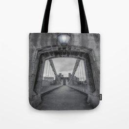 Conwy Suspension Bridge Tote Bag