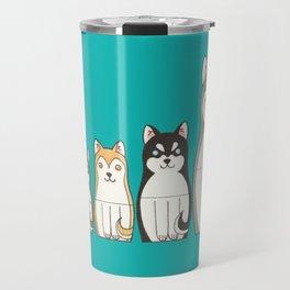 Matryoshka Husky Travel Mug