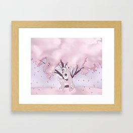doe dear Framed Art Print