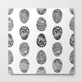 Easter egg artistic print Metal Print