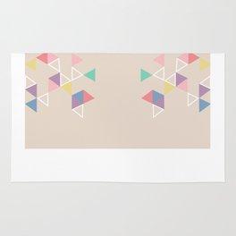 Geometric Tri Rug
