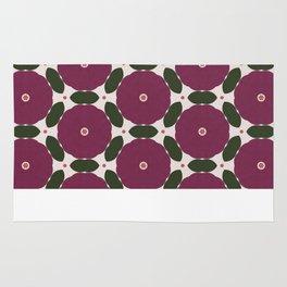 Peony Geometric Pattern Rug