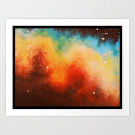 Nebulous.2 Art Print