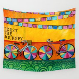 Trust your Journey  Wall Tapestry