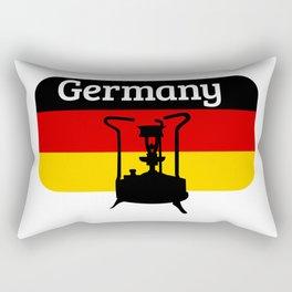 Pressure Stove with German Flag Rectangular Pillow