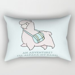 Alpaca my bags Rectangular Pillow