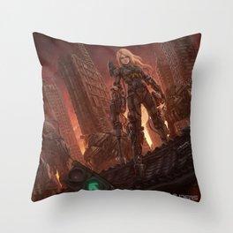 Rika Outcast Throw Pillow