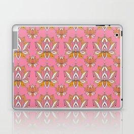 Lotus Mandala Doodle Pink Pattern Laptop & iPad Skin
