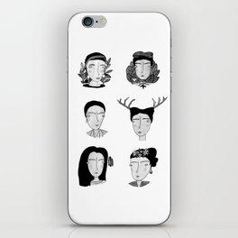 Seis Fridas iPhone Skin