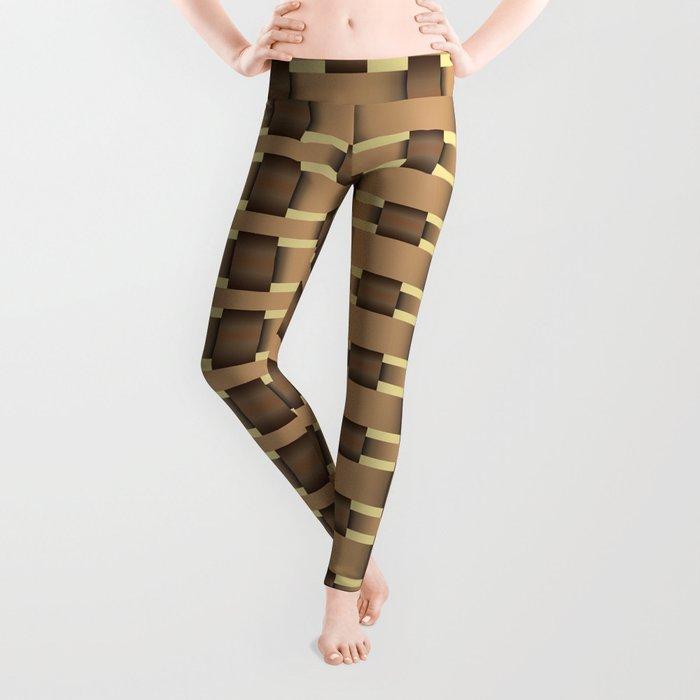 wicker seamless pattern Leggings