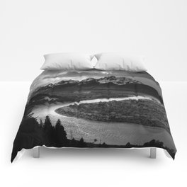 Ansel Adams - The Tetons and Snake River Comforters
