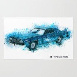 76 FORD Gran Torino Rug