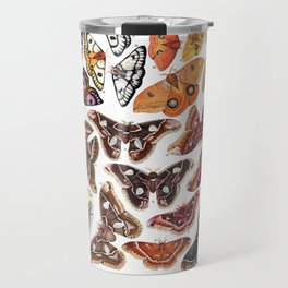 Saturniid Moths of North America Travel Mug