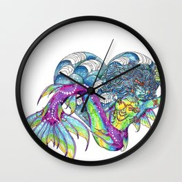 Heart of the Ocean Pisces Wall Clock