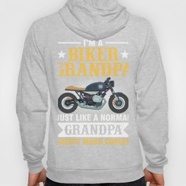Gift For Biker Grandpa From Grandkids Hoody