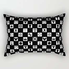 Kingdom Hearts Grid Rectangular Pillow