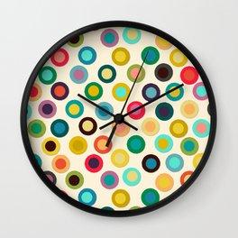 ivory pop spot Wall Clock