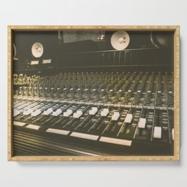 Studio Mixing Board Serving Tray