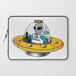 Alien Taxi Laptop Sleeve