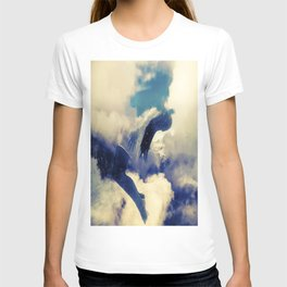 Woman and sky T-shirt