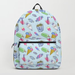 Cute candy and ice-cream pattern Backpack