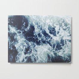 Dark blue Ocean Metal Print