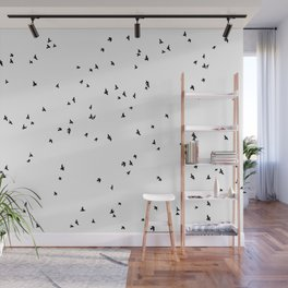 free as a bird Wall Mural