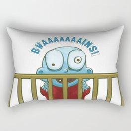Nobody puts Baby Zombie in a corner! Rectangular Pillow