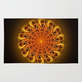 The mandala of energy Rug