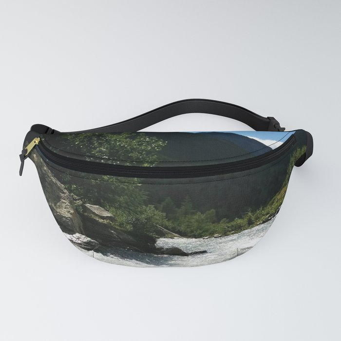 verpeil valley cold river feet kaunertal tirol austria europe Fanny Pack
