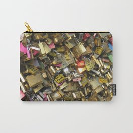 Love Padlocks Carry-All Pouch