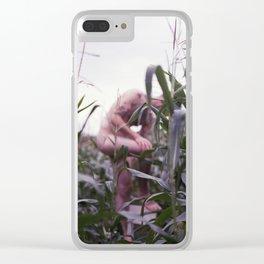corn Clear iPhone Case
