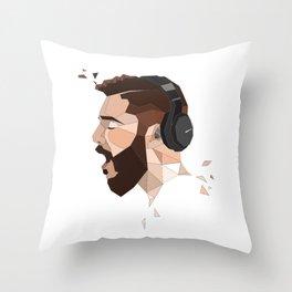 JON BELLION Throw Pillow
