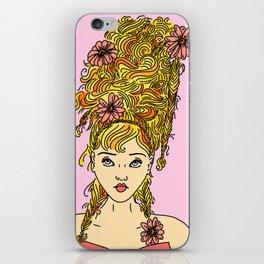Flower Girl II iPhone Skin