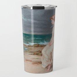 Miranda, John William Waterhouse Travel Mug