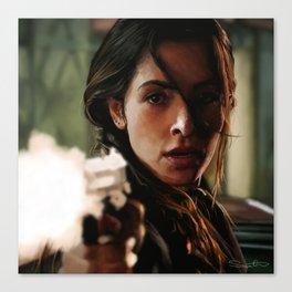Agent Shaw Canvas Print