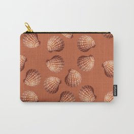 Orange big Clam pattern Illustration design Carry-All Pouch