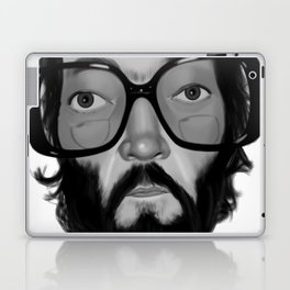 Julio Cortazar Laptop & iPad Skin