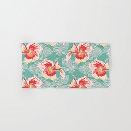 Hawaiian Flowers Hand & Bath Towel