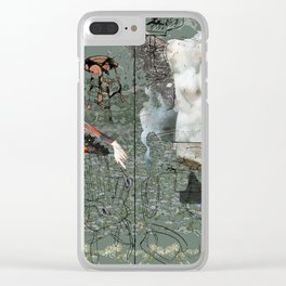 Dionysus and Apollo Clear iPhone Case