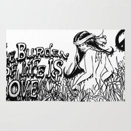Burden of love  Rug